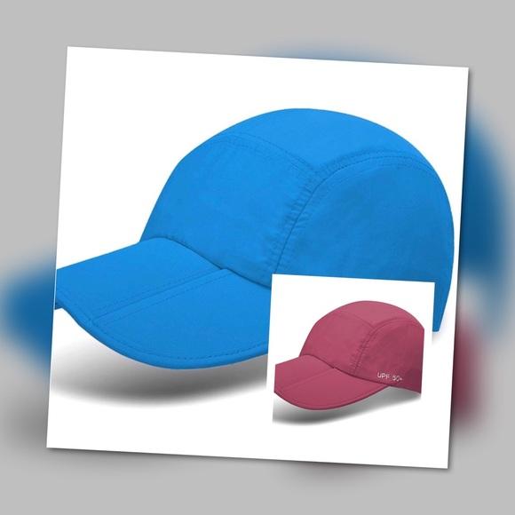 9M Clothing Company Unisex Foldable UPF 50+ Cap f920e87d6b7